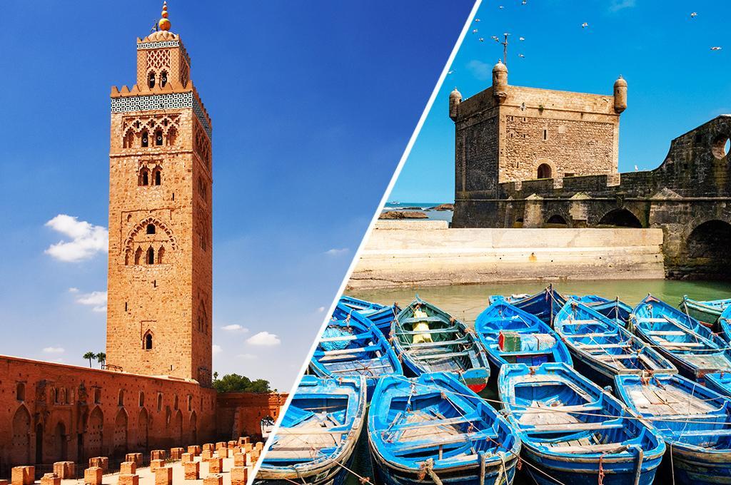 Combiné Marrakech/Essaouira en Riad 4 nuits 4 *